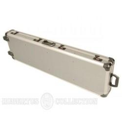 Walizka na 2 szt. broni aluminiowa - rolki
