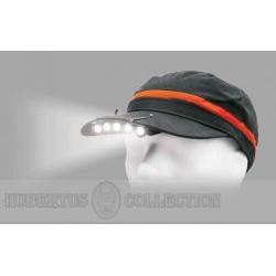 Latarka na czapkę 5 LED MC 4002
