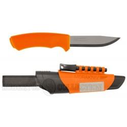 Nóż MORA Bushcraft Survival Orange krzesiwo/ostrzałka