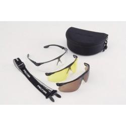 Okulary strzeleckie balistyczne - Maxim Ballistic zestaw