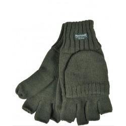 Rękawiczki  myśliwskie z dzianiny