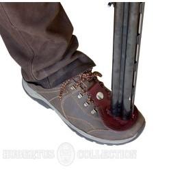 Skórzana podkładka do ochrony butów