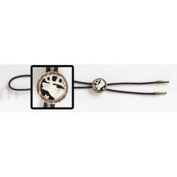 Krawatnik myśliwski- głowa ryczący jeleń