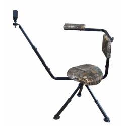 Krzesełko myśliwskie z podpórką